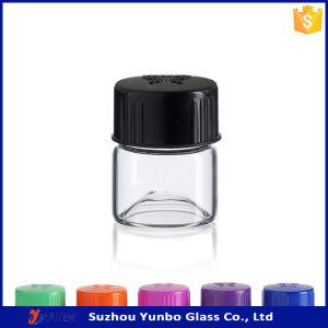 Custom Borosilicate Tube Screw Neck Cosmetic Vials 1 DRAM Glass Vials