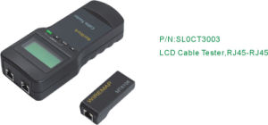 RJ45-RJ45 LCD Cable Tester pictures & photos