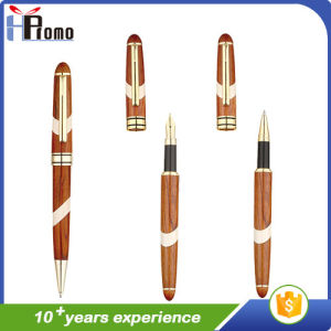 High Quality Promotion Wooden Pen with Mosaic pictures & photos