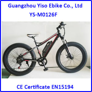 Mountain Bike Electric with Fat Tyre Wheel pictures & photos