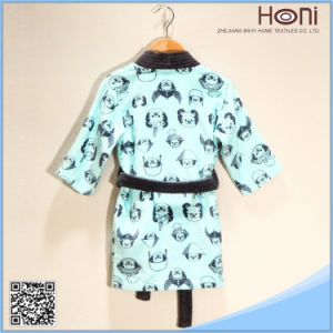 High Quality Printed Kids Bathrobe pictures & photos