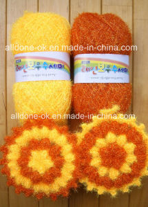 Hand Crochet Popcorn Flower Dish Scrubbies Susemi Scrubber Cloth 12cm pictures & photos