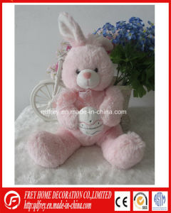Plush Bunny Toy with CE for Baby Playing pictures & photos