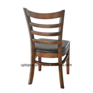 (SP-EC162) High Quality Ladder Back Solid Wood Restaurant Dining Chair pictures & photos