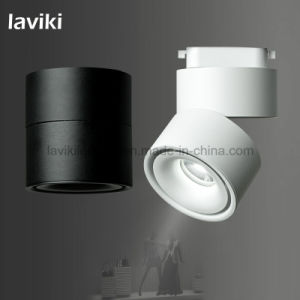 7W/10W/12W Angle Adjustable COB LED Track Lighting Track Spot Light with Black White for Shops, Showroom pictures & photos