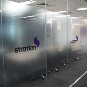 Custom Design Latest Fashionable Conference Room Privacy Film Digital Printing pictures & photos
