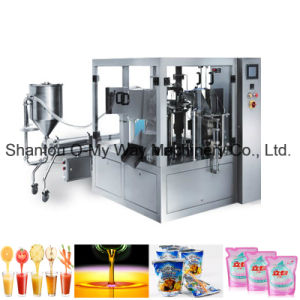 Detergent Liquid Pouch Premade Packing Machine pictures & photos