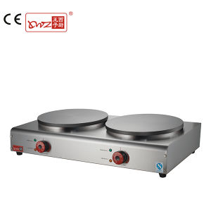 Commercial Double Plate Electric Tabletop Crepes Maker on Sale pictures & photos