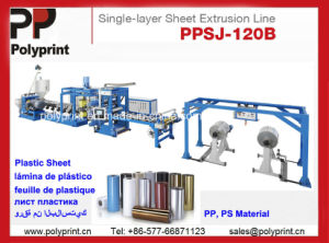 Plastic Sheet Extrusion Line Sheet Extruder for PP and HIPS Material pictures & photos