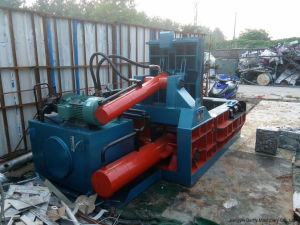 Hydraulic Scrap Metal Baler- (YDF-130A) pictures & photos