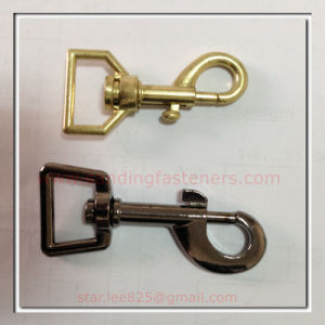 Brass Plated Zinc Alloy Snap Hooks for Bag pictures & photos