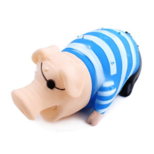 Latex Pig Shape Dog Toys with Squeaker pictures & photos