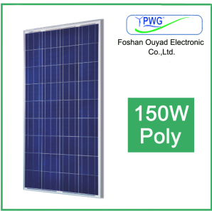 150W Poly Solar Panel for Solar System pictures & photos