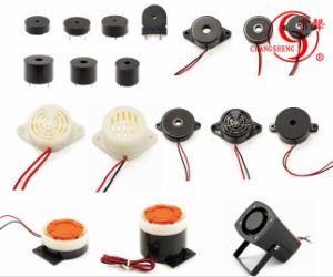 43mm Piezo 12V Magnetic Piezo Buzzer with Self Drive Dxp4333 Hot Sell pictures & photos