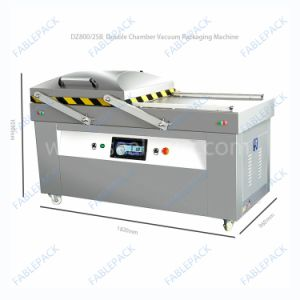 Vacuum Packing Machine, Double Chamber Vacuum Sealer Dzp-/400/500/6002sb pictures & photos