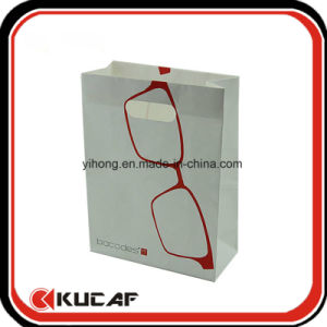 Custom Lamination 250GSM Coated Paper Bag with Die Cut Handle pictures & photos