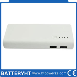 OEM Design Custom White/Black 11000mAh Power Bank