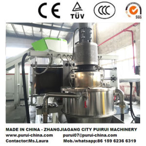 Plastic Recycling Pelletizing Machine for Waste PP Woven Bag pictures & photos