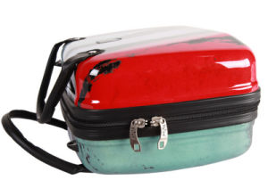 Manufacturers Cosmetic Bag 15 Inch Portable Make-up Box PC Material Cosmetic Box pictures & photos