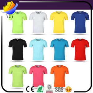 Custom Outdoor Short Sleeve Crew Neck Movement Fast -Dry T-Shirt pictures & photos
