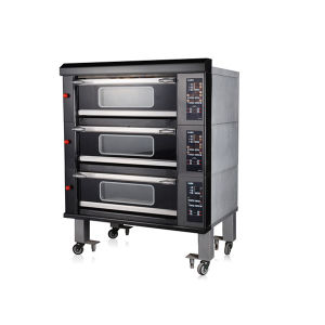 Luxury 3 Deck 6 Trays Commercial Electric Oven Bakery Kitchen Machine pictures & photos
