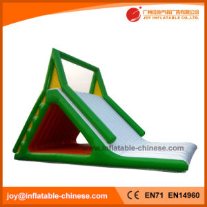 Simple Inflatable Green and White Color Slide (T11-205) pictures & photos