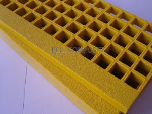 Fiberglass Molded Grating / Fiberglass Sand Ladders, FRP/GRP Grating, Anti-Slip Walkways. pictures & photos