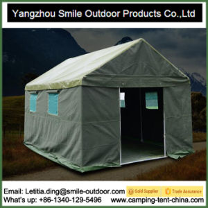 Outdoor Living Party Canvas Heavy Duty Relief Refugee Tent pictures & photos