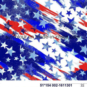 80%Nylon 20%Spandex Star Aop Fabric for Swimwear pictures & photos