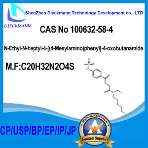 N-Ethyl-N-Heptyl-4-[ (4-Mesylamino) Phenyl]-4-Oxobutanamide CAS No 100632-58-4 pictures & photos