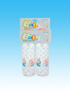 Medical-Grade Glass Nice Baby Feeding Bottle pictures & photos