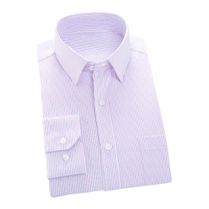Men White Twill Formal Business Dress Shirt of 100% Cotton pictures & photos