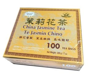 OEM-Jasmine Green (100teabag/giftbox) pictures & photos