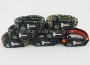2017 New Outdoor Bracelet/ High Quality Multi-Functional Camping Bracelet pictures & photos