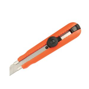 18mm Snap-off Blade Special Shape Screw Lock Utility Cutter Knife pictures & photos