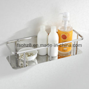 Polishing Stainless Steel Bathroom Hanging Shampoo Basket (6609) pictures & photos