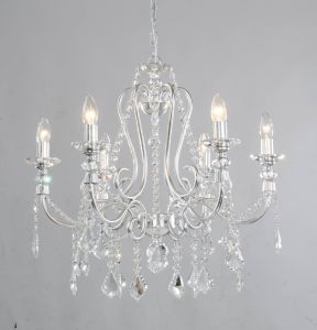 Modern Indoor Chrome Crystal Chandelier for Home pictures & photos