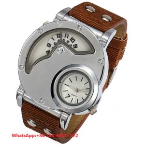 Special Designing Quartz Men′s Watch with Genuine Leather Strap Fs639 pictures & photos