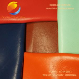 High Quality PU Leather for Bag Flf17f28W pictures & photos