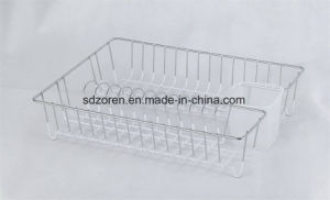 Dish Drainer with Fork and Knife Holder pictures & photos
