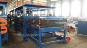 Kxd EPS and Rack Wool Sandwich Panel Roll Forming Machine pictures & photos