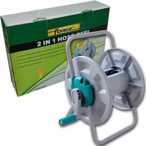 High Quality Dual Purpose 2 in 1 Garden Water Hose Reel Set pictures & photos