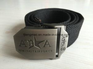 Black Cotton Military Belt pictures & photos