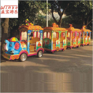 Professional Manufacturer Playground Trackless Train for Amusement Park (J217B) pictures & photos