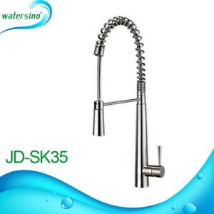 Spring Kitchen Faucet SUS304 Pull-out Watertap pictures & photos