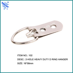 102 Two Holes Strap Ring Hanger pictures & photos