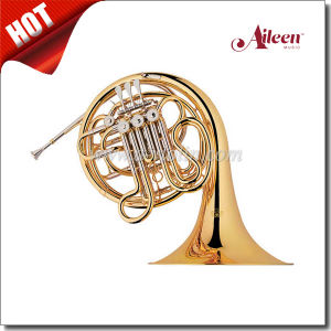 F/ Bb Key 4 Keys Double French Horn (FH7045G) pictures & photos