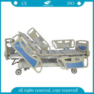 Weighing Type Five Function Hospital Patient Bed (AG-BY009) pictures & photos