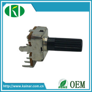 Low Cost High Quality Long Life Rotary Potentiometer Wh123-1 pictures & photos