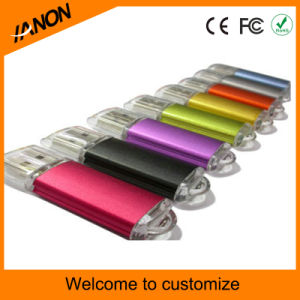 Retail Wholesale Plastic USB Flash Drive with Mixed Colors pictures & photos